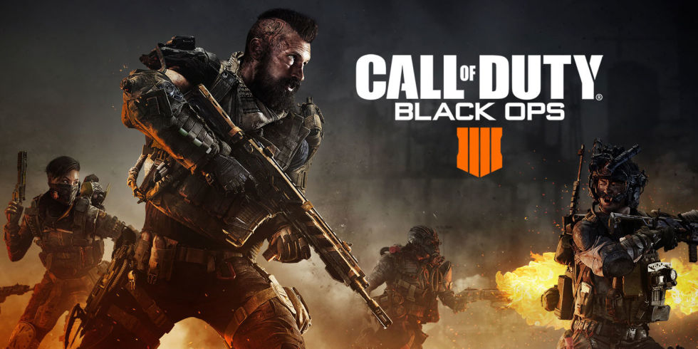 Call of Duty Blackops 4 Combines both Fortnite and PUBG to